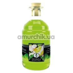Масло для орального секса Shunga Exotic Green Tea - зеленый чай, 100 мл - Фото №1