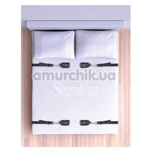 Бондажный набор Sportsheets Under the Bed Restraint System, черный