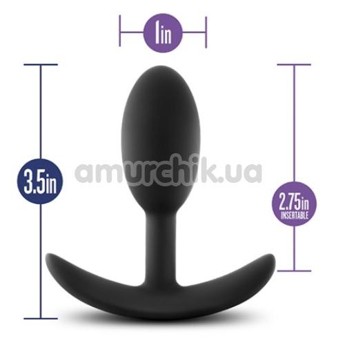 Анальная пробка Luxe Wearable Vibra Slim Plug Small, черная