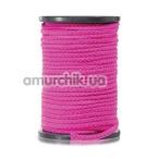 Веревка Bondage Rope, розовая - Фото №1