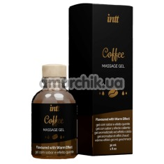 Гель для массажа Intt Massage Gel Coffee - кофе, 30 мл - Фото №1