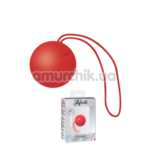Вагинальный шарик Joyballs Single, красный