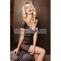 Платье Dolce Piccante сетчатое, чёрное - Фото №1