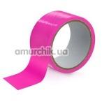 Бондажная лента Fetish Tentation Enjoy Pain, ярко-розовая - Фото №1