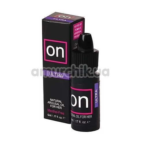Возбуждающее масло Sensuva On Natural Arousal Oil For Her Ultra, 5 мл - Фото №1