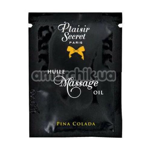 Массажное масло Plaisirs Secrets Paris Huile Massage Oil Pina Colada - пина колада, 3 мл