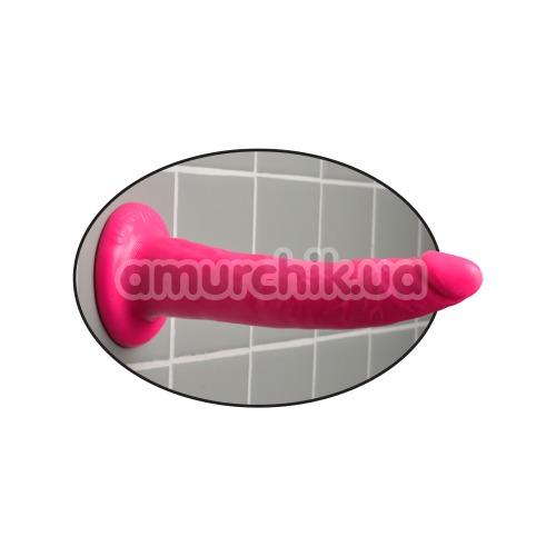 Фаллоимитатор Slim Dillio 7, розовый