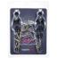 Зажимы для сосков японские с шипами Lucky Bay Nipple Play Chain And Spike, серебряные - Фото №2