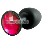 Анальная пробка Dorcel Geisha Plug Ruby L, черная - Фото №1