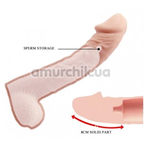 Насадка на пенис Penis Extender 8 inch 026238, телесная