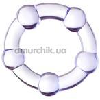 Эрекционное кольцо A-Toys 768016, фиолетовое - Фото №1