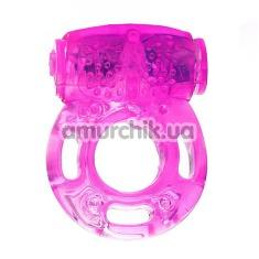 Виброкольцо Sex Vibrating Ring, фиолетовое - Фото №1