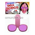 Очки-приколы Pecker Sex Specs