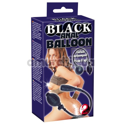 Анальный расширитель Black Anal Balloon