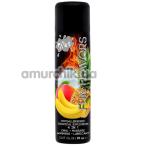 Массажно-оральный лубрикант с согревающим эффектом Wet Fun Flavors 4-in-1 Tropical Explosion, 89 мл - Фото №1