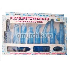 Набор Pleasure Toys Kits из 11 предметов - Фото №1