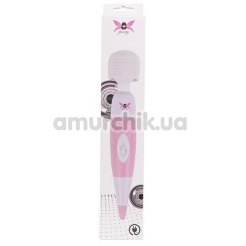 Универсальный массажер Pixey Pink Edition, бело-розовый