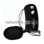 Виброяйцо Ultra 7 Remote Control Egg, черное - Фото №1