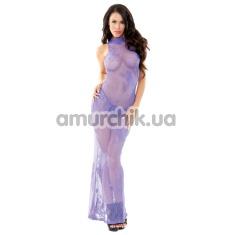 Комплект Tease фиолетовый (модель B458): платье + трусики-стринги