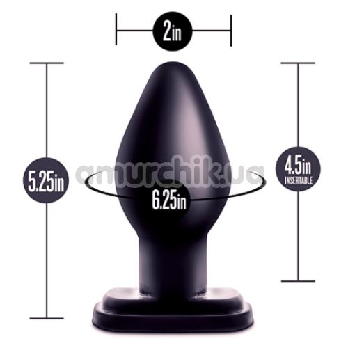 Анальная пробка Anal Adventures XL Plug, черная