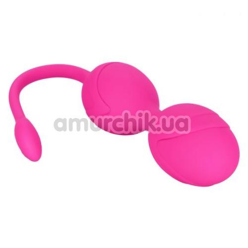Вагинальные шарики с вибрацией Remote Dual Motor Kegel System, розовый