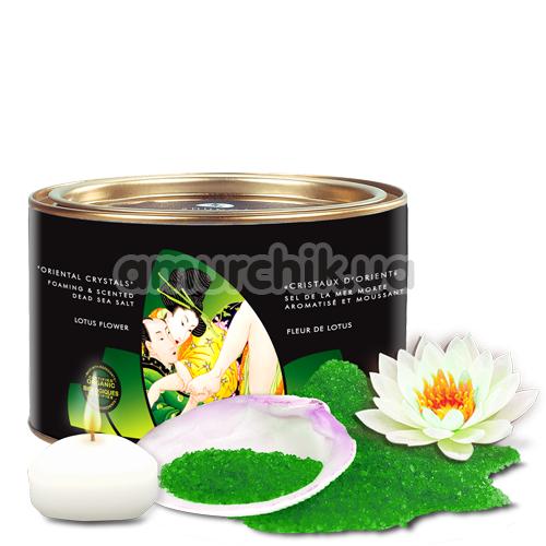 Соль для ванны Shunga Oriental Crystals Lotus Flower - Фото №1