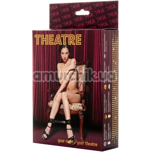 Фиксаторы Theatre Wrist Ankle Cuffs, черные