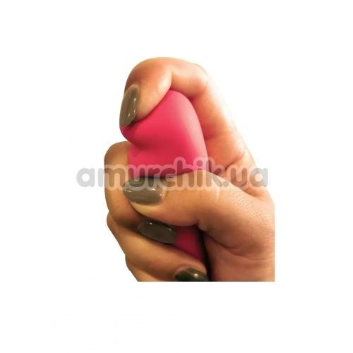 Клиторальный вибратор Silk Tease Super Soft Silicone, розовый
