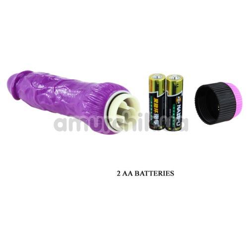 Вибратор Realistic Cock 23 см, фиолетовый