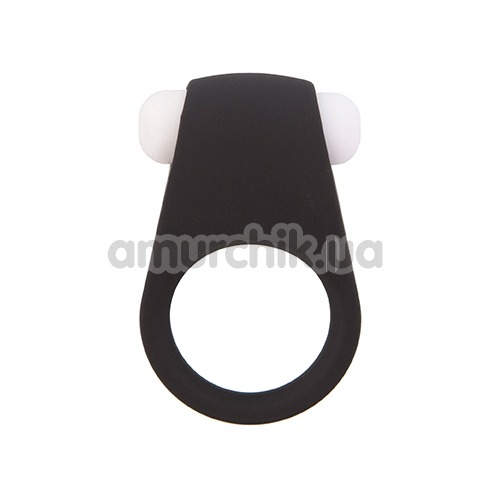 Виброкольцо Lit-Up Silicone Stimu-Ring 4, черное