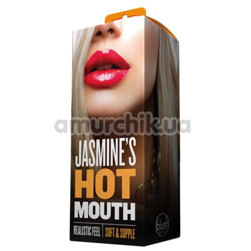 Симулятор орального секса Jasmine's Hot Mouth, телесный