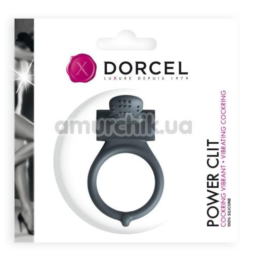 Виброкольцо Dorcel Power Clit, черное