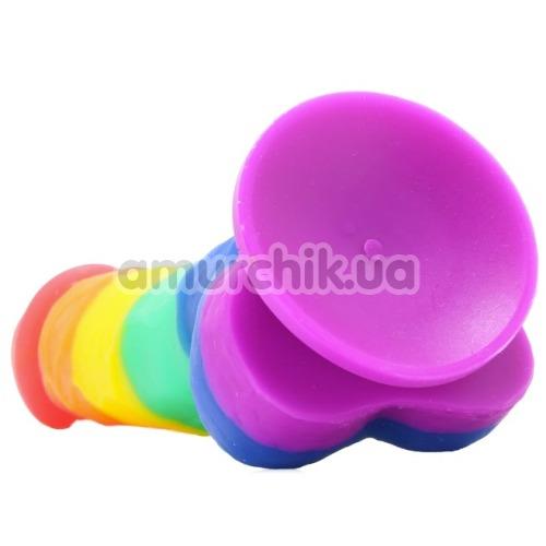 Фаллоимитатор Colours Pride Edition 5, радужный