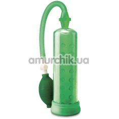Вакуумная помпа Pump Worx Silicone Power Pump, зеленая - Фото №1