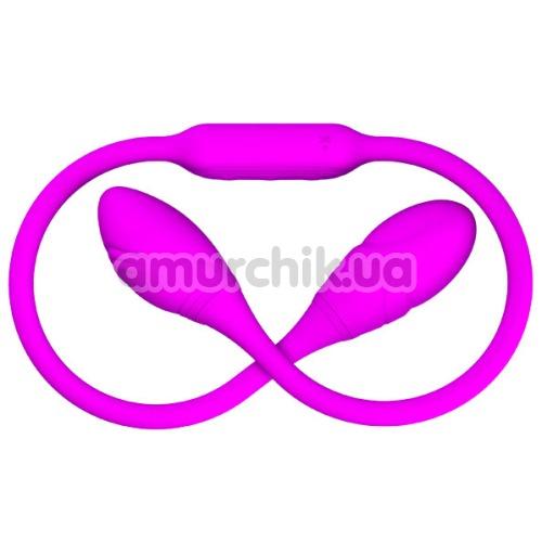 Двуконечный вибратор Pretty Love Dream Lovers Whip, фиолетовый
