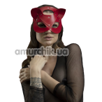 Маска Кошечки Feral Feelings Catwoman Mask, красная - Фото №1