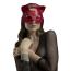 Маска Кошечки Feral Feelings Catwoman Mask, красная - Фото №1
