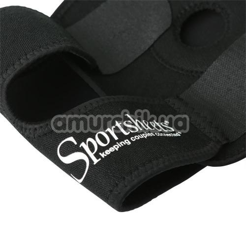 Ремень для страпона Sportsheets Thigh Strap-On, черный