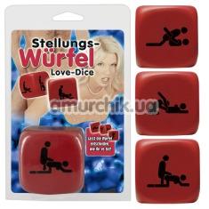 Секс-игра кубик Stellungs-Wurfel Love-Dice - Фото №1