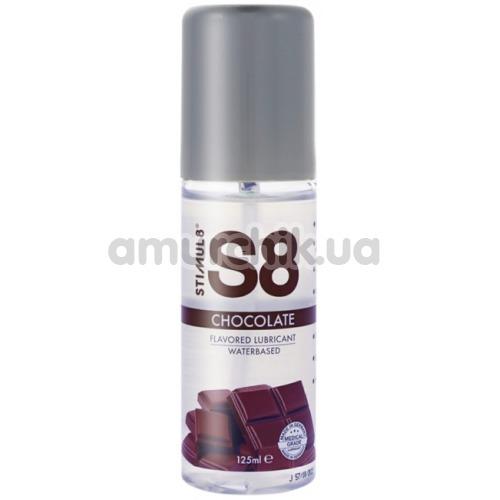 Оральный лубрикант Stimul8 Flavored Lube - шоколад, 125 мл