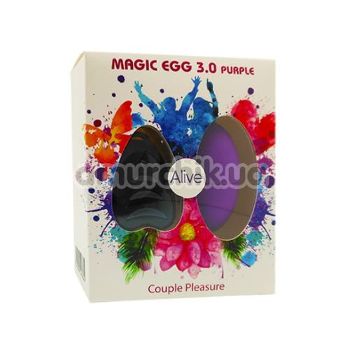Виброяйцо Alive Magic Egg 3.0, фиолетовое