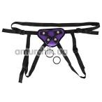 Трусики для страпона Universal Harness, фиолетовые - Фото №1