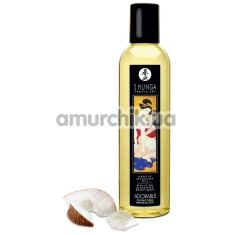 Массажное масло Shunga Erotic Massage Oil Adorable Coconut Thrills - кокос, 250 мл - Фото №1