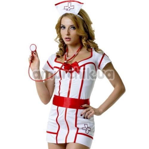 Костюм медсестры LeFrivole Nurse Costume (02896), белый
