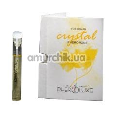 Туалетная вода с феромонами Pheroluxe Crystal - реплика Calvin Klein IN2U Her, 2 мл для женщин - Фото №1