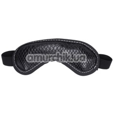 Маска на глаза sLash Snake Blindfold, чёрная - Фото №1