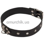 Ошейник Leather Restraints Collar, чёрный - Фото №1