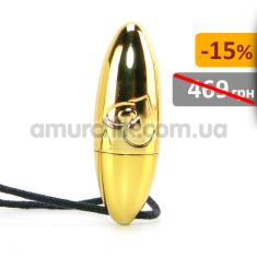 Купить Клиторальный вибратор RO-Val, золотой