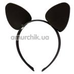 Ушки Кошечки DS Fetish, черные - Фото №1