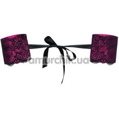 Фиксаторы для рук Obsessive Roseberry, розовые - Фото №1